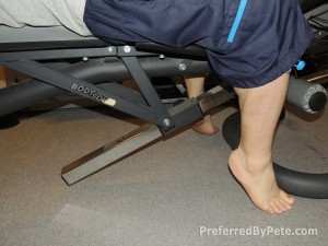 Body-Solid FID46 bench height too high